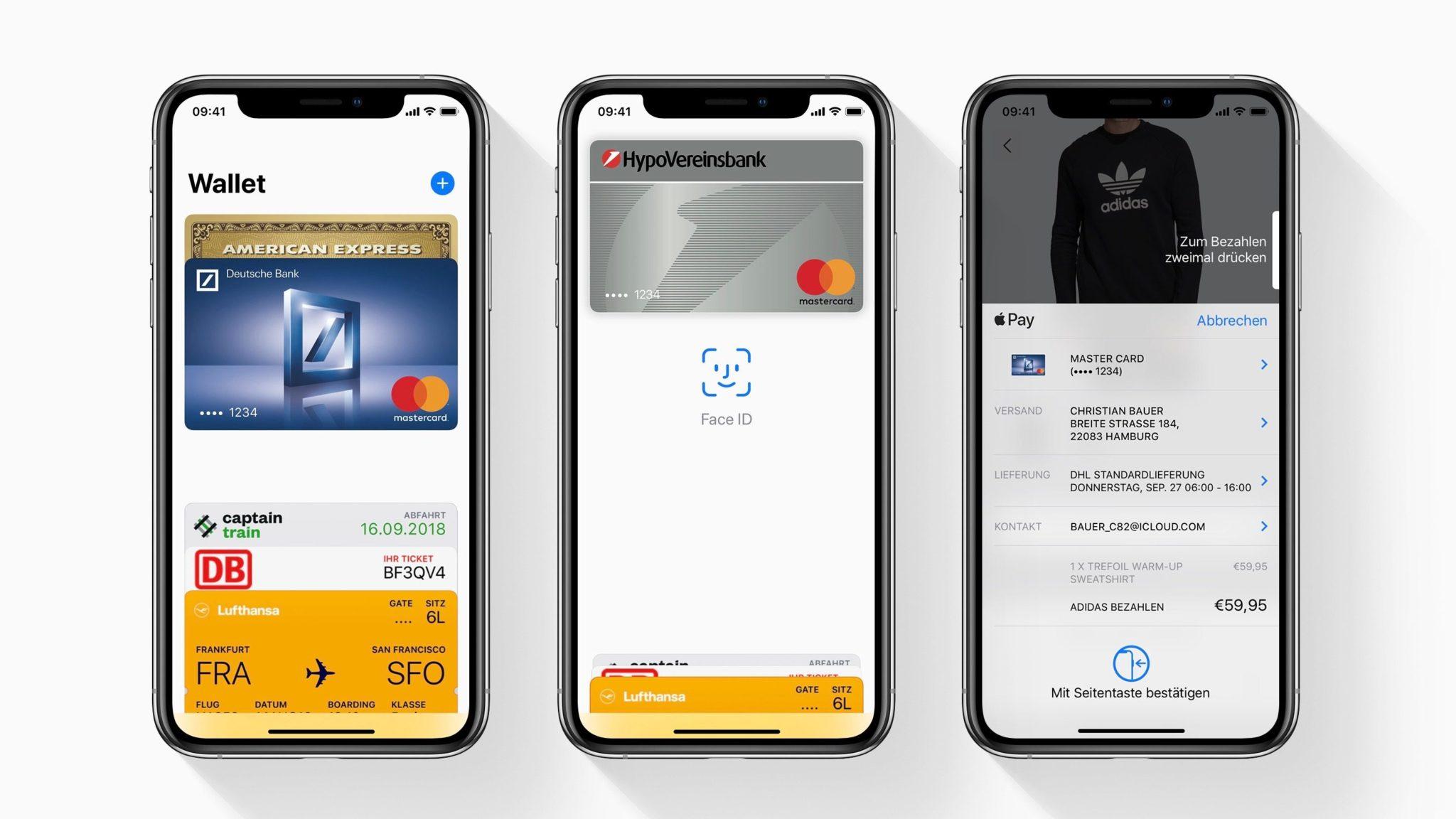 apple pay germany - Apple Pay je od dnes dostupné v Nemecku