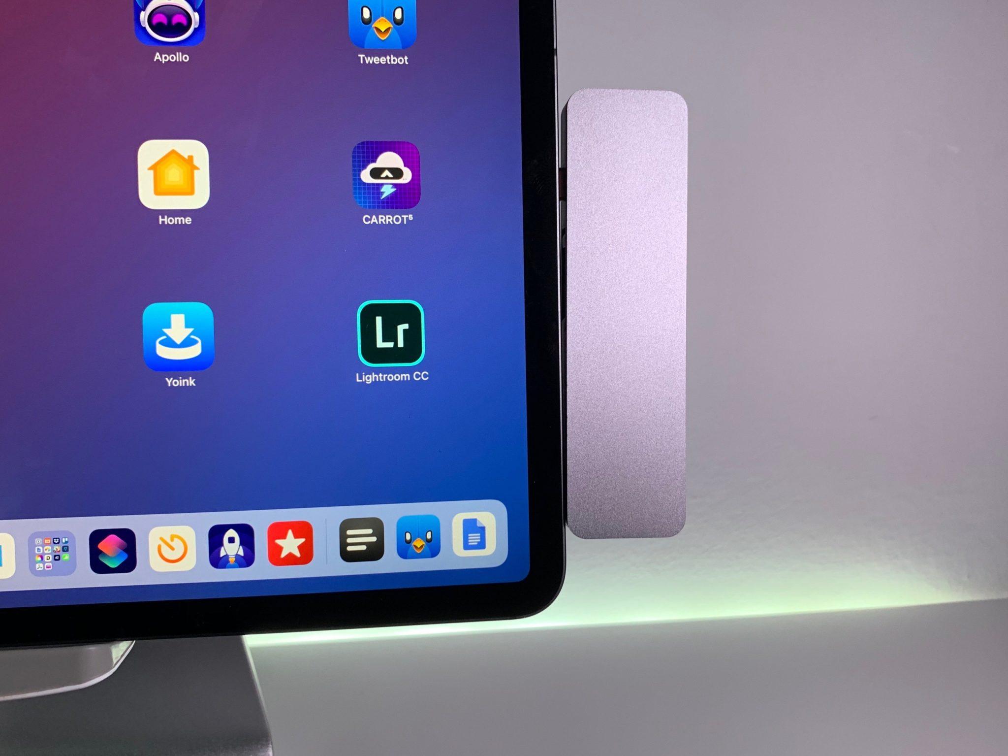 ipad pro usb c hub macstories - Na trh prichádzajú prvé USB-C huby špeciálne pre iPad Pro