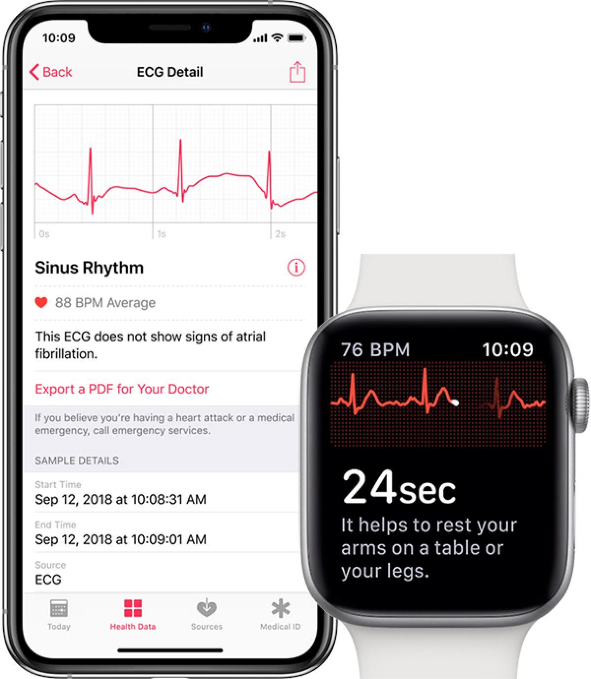 iphone apple watch ecg - Nové aktualizácie: HomePod, Shortcuts, tvOS a macOS Mojave 10.14.2 (+ EKG na Apple Watch)