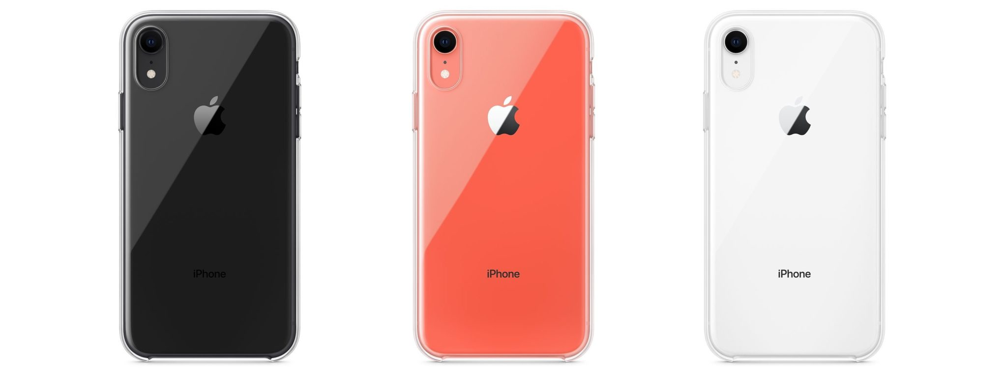 iphonexr clear case colors2 - Apple konečne začal predávať oficiálny obal pre iPhone XR