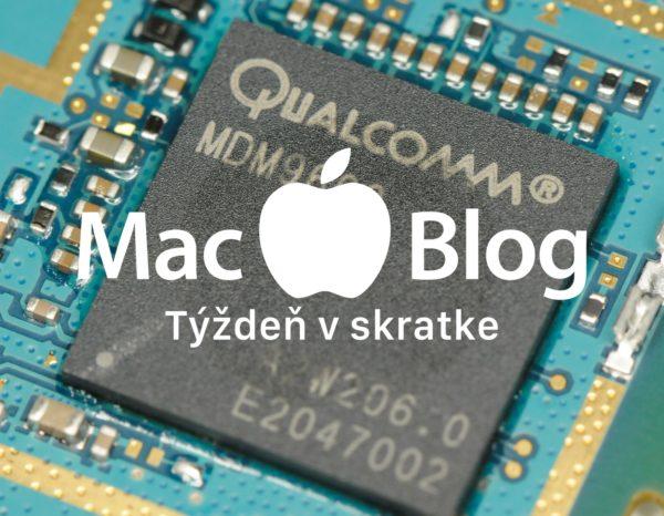 macblog tyzden dec3 2018 600x466 - Týždeň v skratke: vojna s Qualcommom, Apple modemy a koniec sociálnej siete
