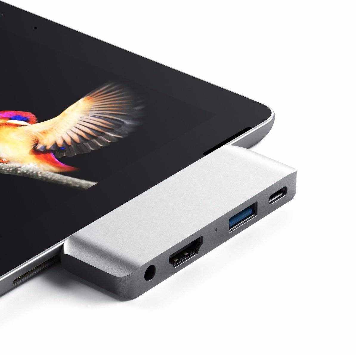 satechi ipad pro usb c hub - Na trh prichádzajú prvé USB-C huby špeciálne pre iPad Pro