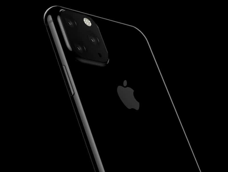 2019 iphone triple camera rendering - WSJ: následovník iPhonu XS Max bude mít tři kamery, iPhone XR dvě