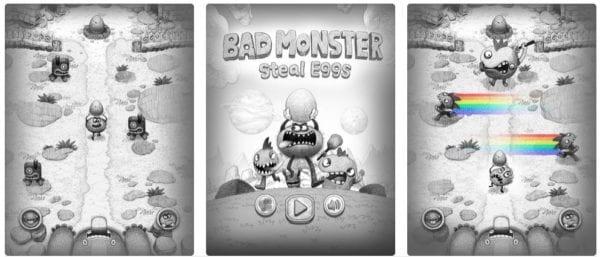 Bad Hungry Monster 600x257 - Zlacnené aplikácie pre iPhone/iPad a Mac #2 týždeň