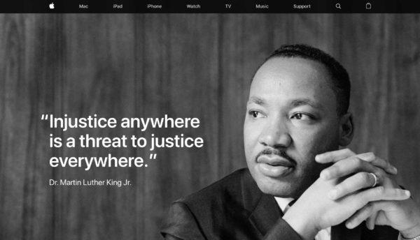 Snímka obrazovky 2019 01 21 o 18.06.49 600x344 - Apple si opäť ctí pamiatku Martina Luthera Kinga