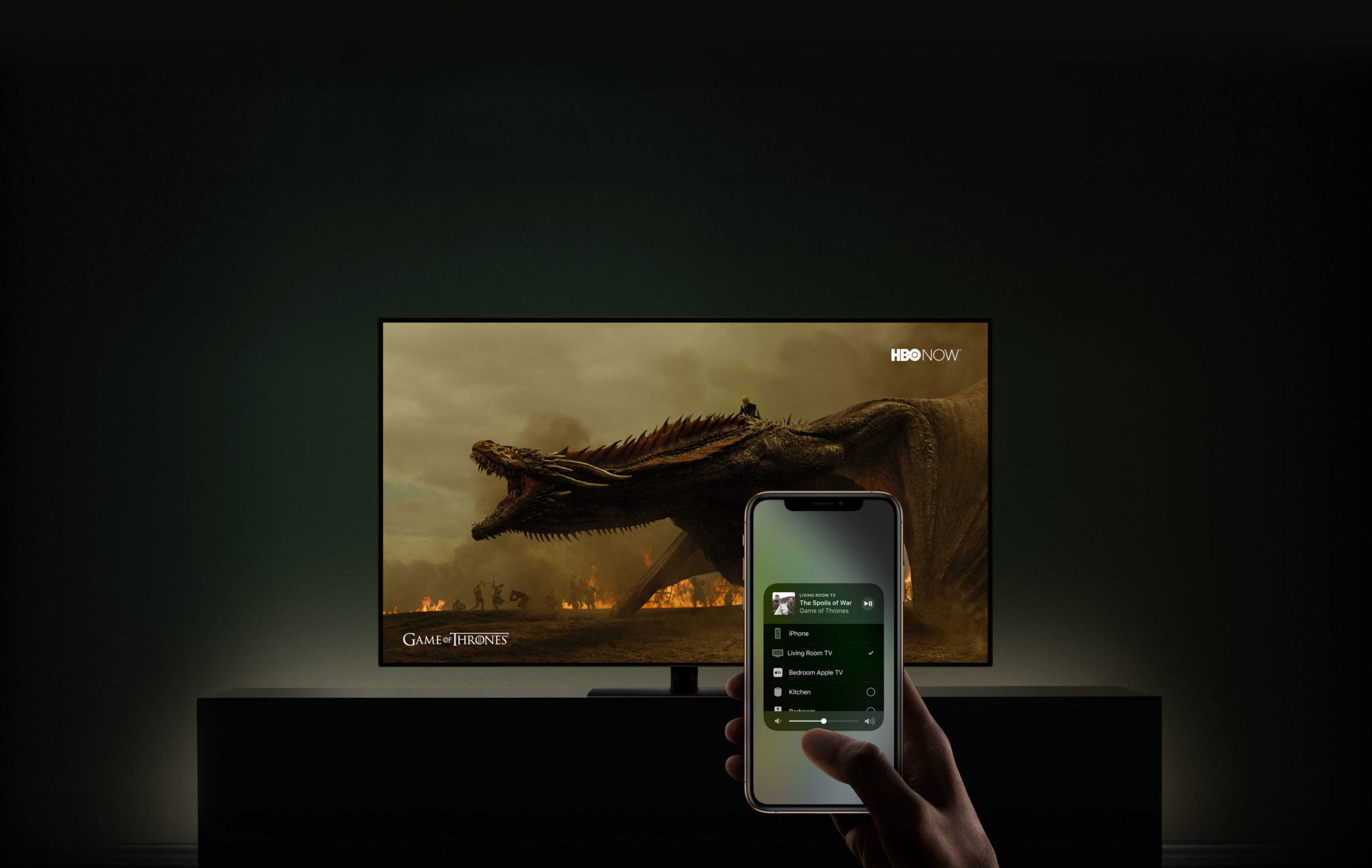 airplay iphone tv gameofthrones - Zhrnutie: To najlepšie z CES 2019