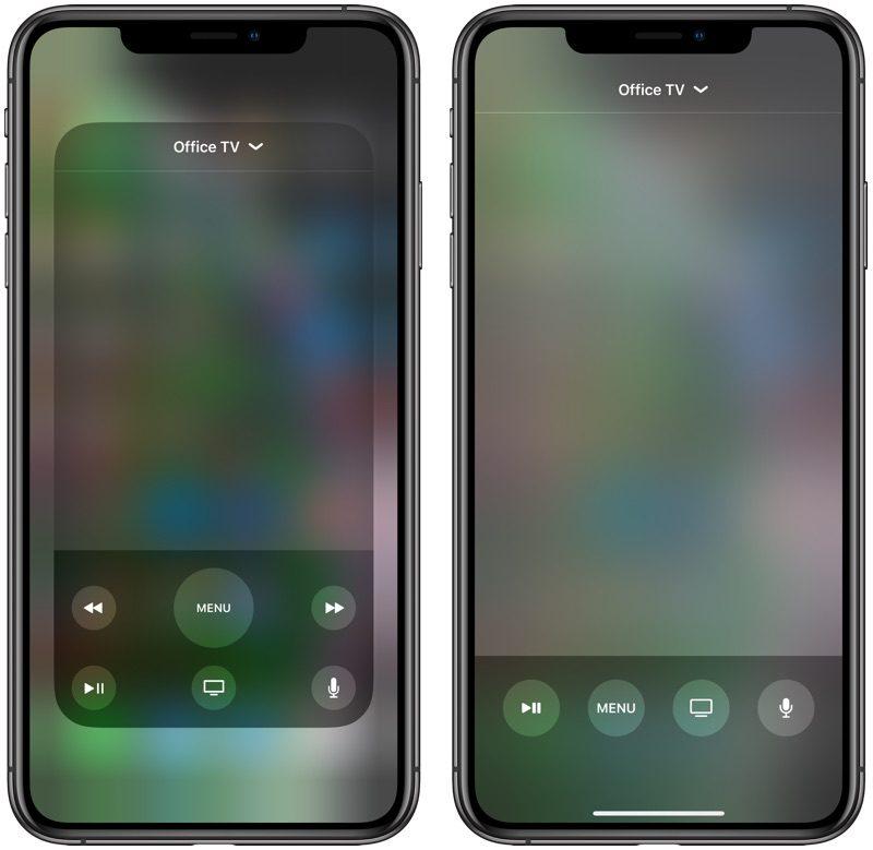 appletvremoteredesign 800x779 - Čo je nové v prvej bete iOS 12.2  podpora  smart TV 86189ccb1de