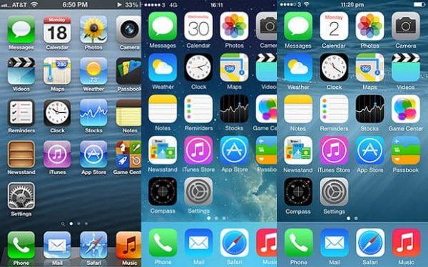 ios6 8 3024318b 600x375 - Okienko do minulosti: História iOS