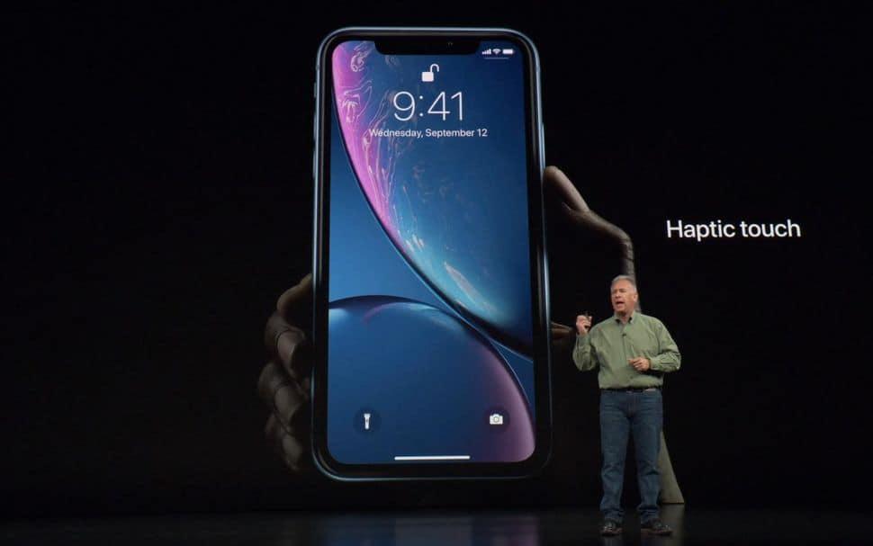 iphone xr haptic touch - WSJ: následovník iPhonu XS Max bude mít tři kamery, iPhone XR dvě