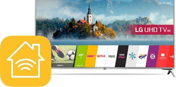 lg smart tv homekit 600x297 - LG oznamuje nové televízory s podporou AirPlay 2 a HomeKit