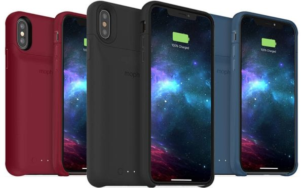 mophie juice pack iphone xs max xr 600x371 - Mophie vydalo kryty pro iPhone XS, XS Max a XR s externí baterií