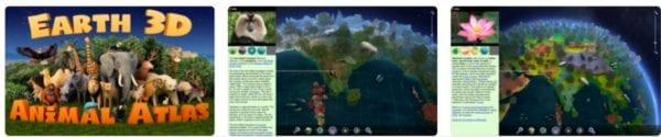 Earth 3D Animal Atlas 600x125 - Zlacnené aplikácie pre iPhone/iPad a Mac #6 týždeň