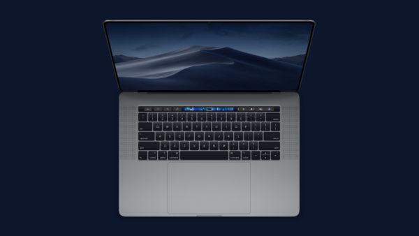 "MacBookPro Overhead Concept 600x338 - Nový 16"" MacBook Pro: kedy Apple redizajnuje svoj laptop?"