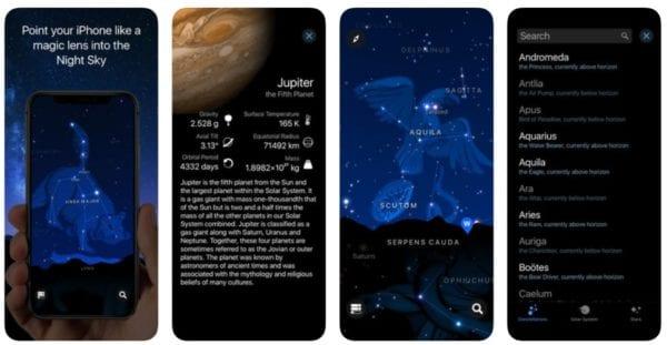 Starlight Explore the Stars 600x311 - Zlacnené aplikácie pre iPhone/iPad a Mac #7 týždeň