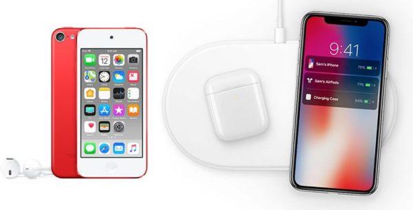 airpower airpods ipod touch 800x407 600x305 - AirPower a nových AirPods by se měly dostat k prvním zákazníkům někdy v první polovině 2019, nový iPod Touch je také očekáván