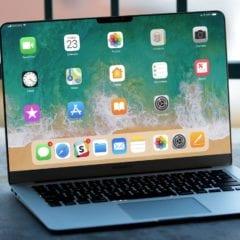 """ios laptop fake mockup 240x240 - Ming-Chi Kuo: Apple chystá 16"""" MacBook Pro, dočkáme se jej ještě letos"""