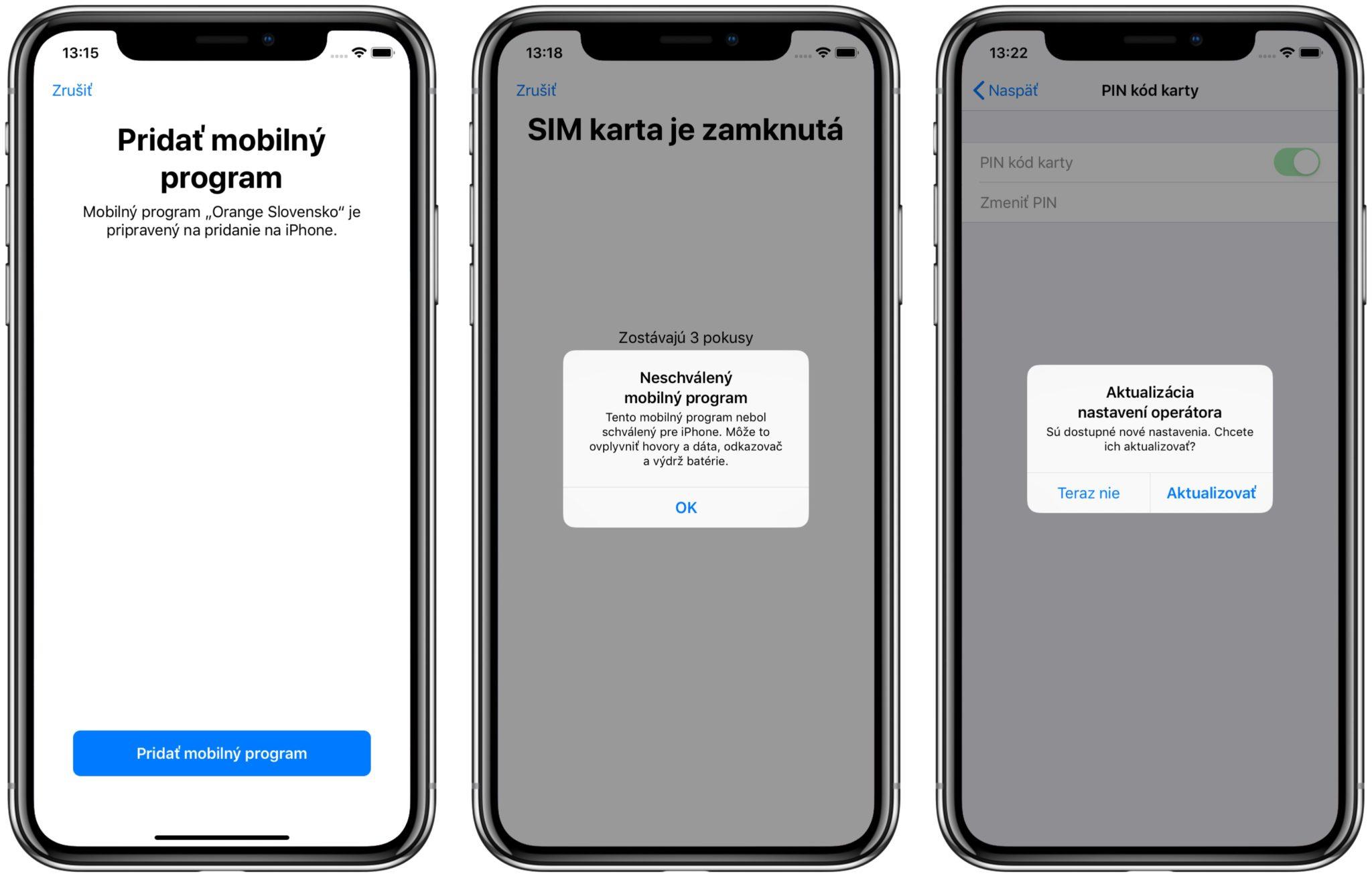 orange esim navod2 1 - Návod: Ako aktivovať eSIM na iPhone XR a XS