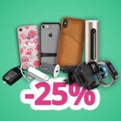 zlava25 240x240 - Zľava 25 % na všetky obaly pre iPhone z iPhonedoplnky.eu