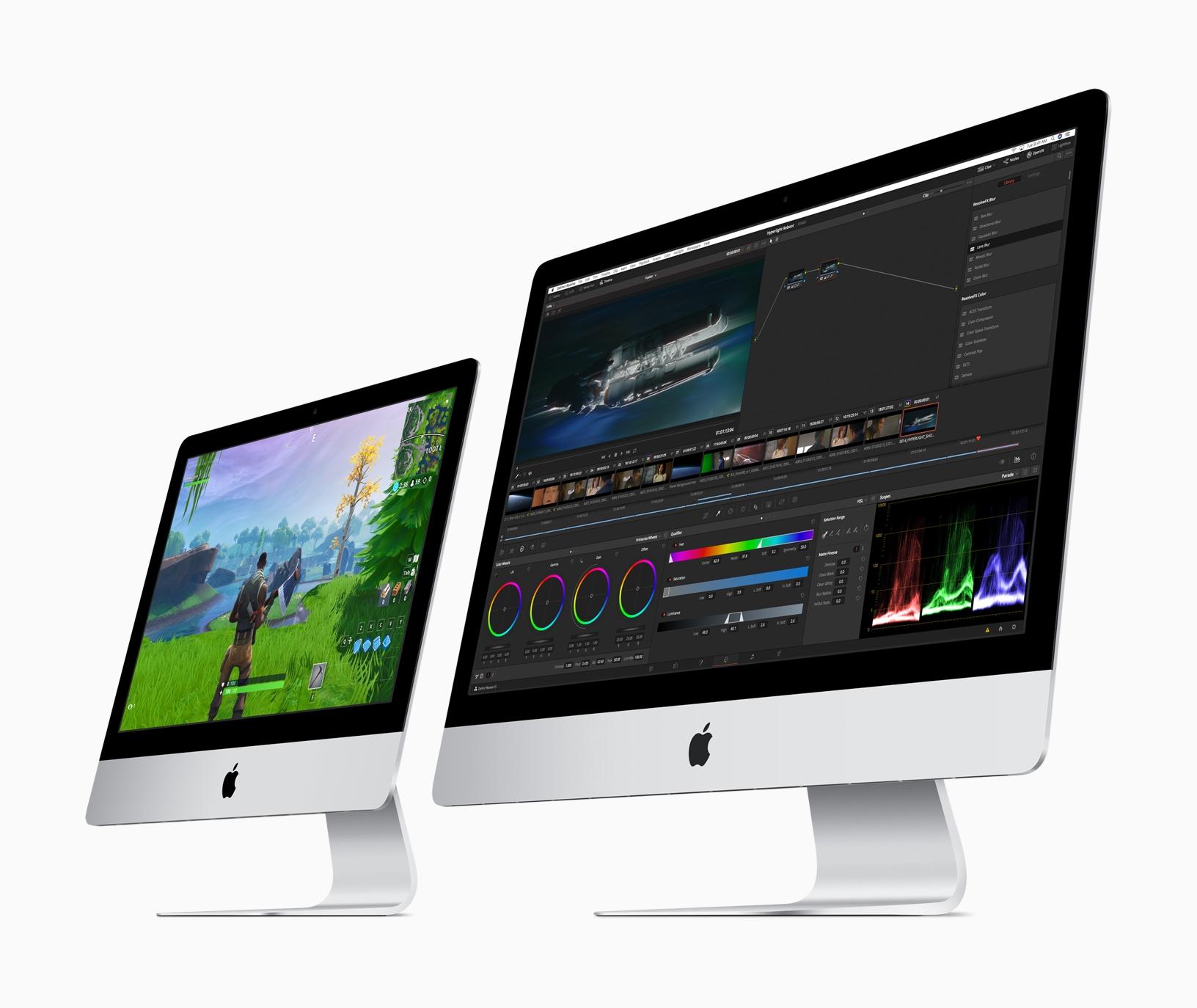 Apple iMac gets 2x more performance 21in and 27in 03192019 - Apple aktualizoval iMac, ponúka Vega grafiky a najnovšie Intel procesory
