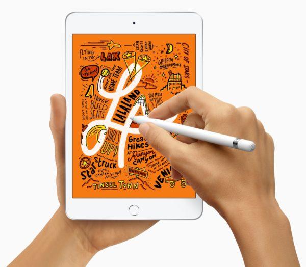 New iPad Mini and supports Apple Pencil 03192019 600x524 - iPad mini ožíva, aj s podporou pre Apple Pencil a rýchlym A12 čipom
