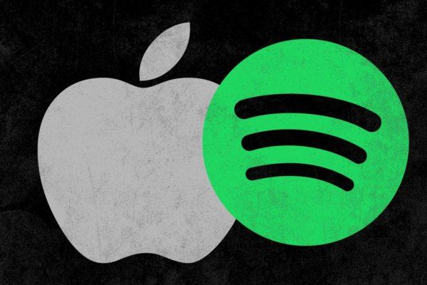 apple spotify logos theringer 600x400 - Apple: Spotify chce všetky benefity App Storu bez toho, aby niečim prispelo