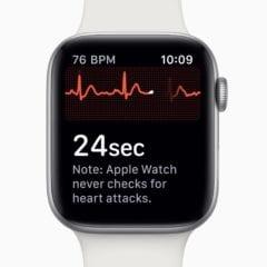 apple watch 4 ecg ekg 240x240 - Apple vydal watchOS 5.2 s podporou EKG pre Európu, Slovensko chýba