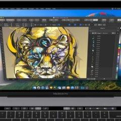 included touchbar 2019 240x240 - CorelDRAW sa po takmer dvadsiatich rokoch vracia na Mac