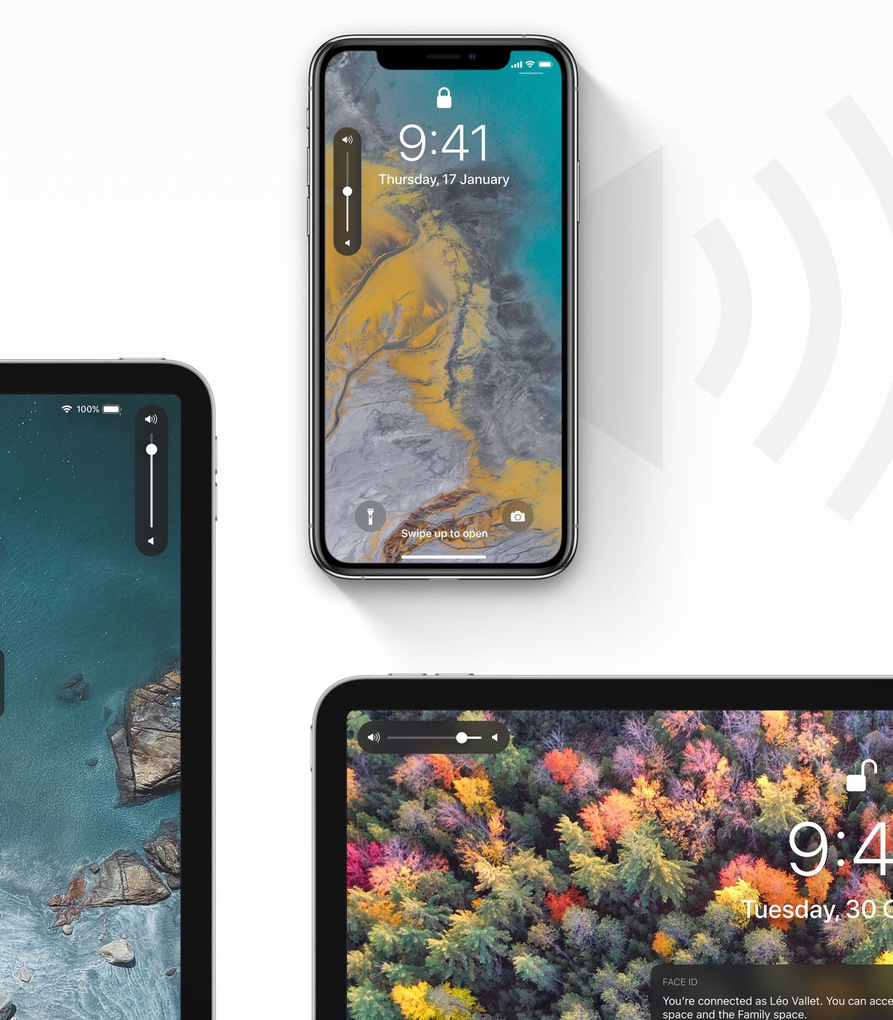 ios 13 concept leo vallet1 - iOS 13: krásny koncept ukazuje, ako by mohla vyzerať podpora Magic Mouse na iPade