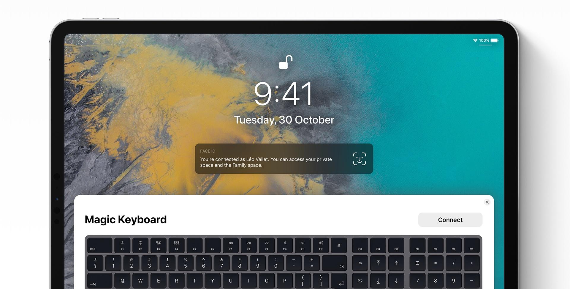 ios 13 concept leo vallet2 - iOS 13: krásny koncept ukazuje, ako by mohla vyzerať podpora Magic Mouse na iPade