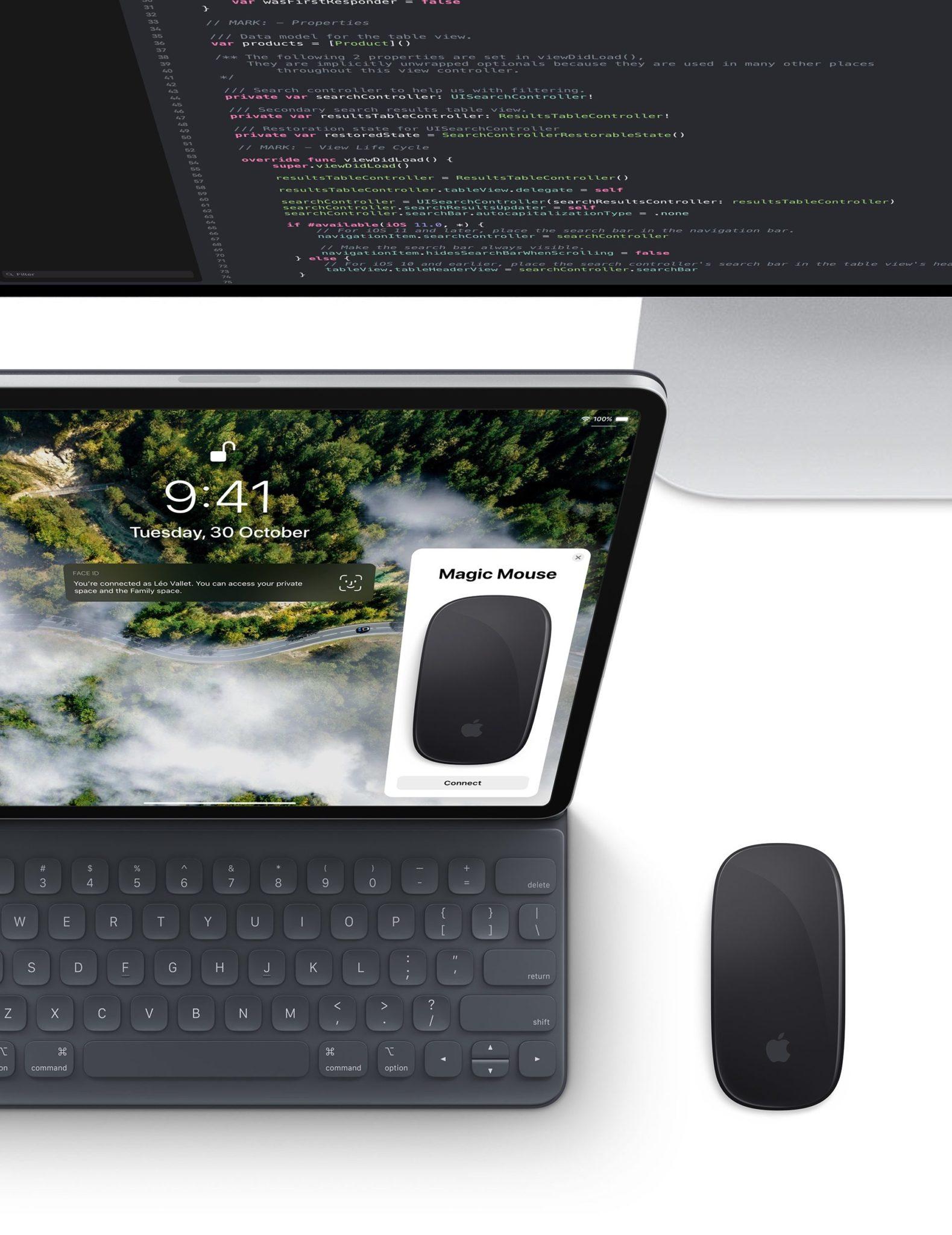 ios 13 concept leo vallet3 e1551898604768 - iOS 13: krásny koncept ukazuje, ako by mohla vyzerať podpora Magic Mouse na iPade