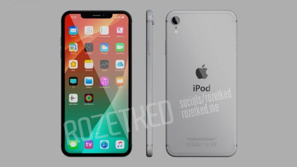 ipod touch 2019 concept rozetked 600x338 - Ikona v iOS ukazuje, ako bude vyzerať nový iPod touch