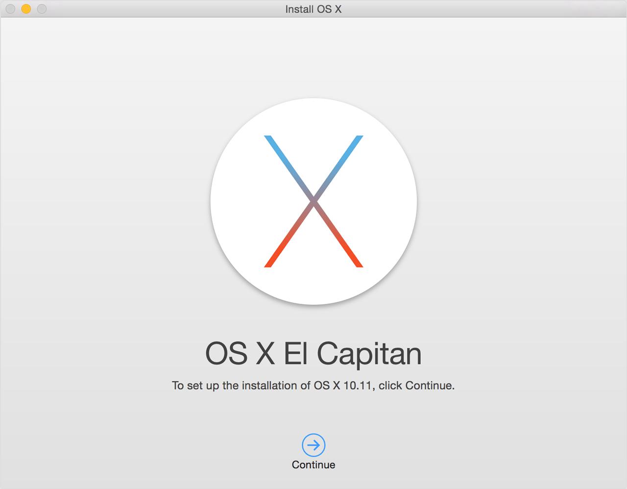 osx elcapitan install - Ako vdýchnuť starému Macu nový život?