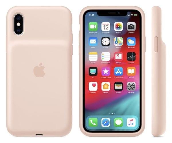 pink sand battery case 600x497 - Další novinkou představenou tento týden jsou nové Apple Watch řemínky a kryty