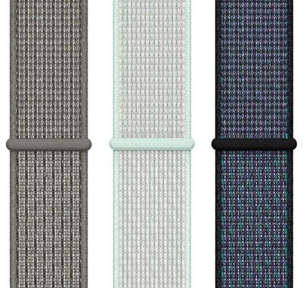 sport loop nike spring 600x565 - Další novinkou představenou tento týden jsou nové Apple Watch řemínky a kryty