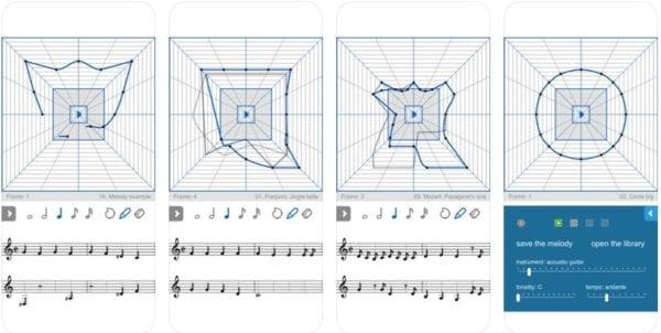 Melody Composer Squared 600x302 - Zlacnené aplikácie pre iPhone/iPad a Mac #17 týždeň