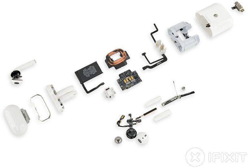 airpods 2 teardown full 800x541 - Týždeň v skratke: televízia, magazíny a hry, EKG za hranicami a rozbité klávesnice