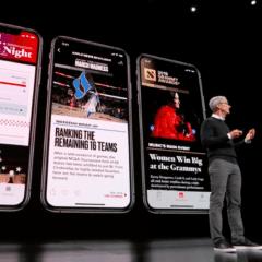 apple news on iphone 240x240 - Apple News+ si v prvních 48 hodinách po spuštění předplatilo přes 200 000 lidí