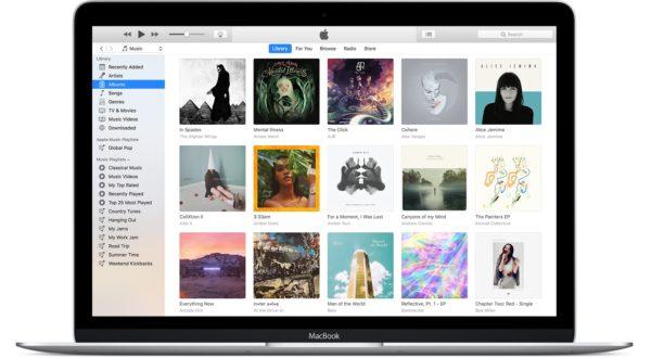 iTunes 12.7 Music section Mac screenshot 001 600x330 - Apple priblížil zmeny v iTunes s príchodom macOS Catalina