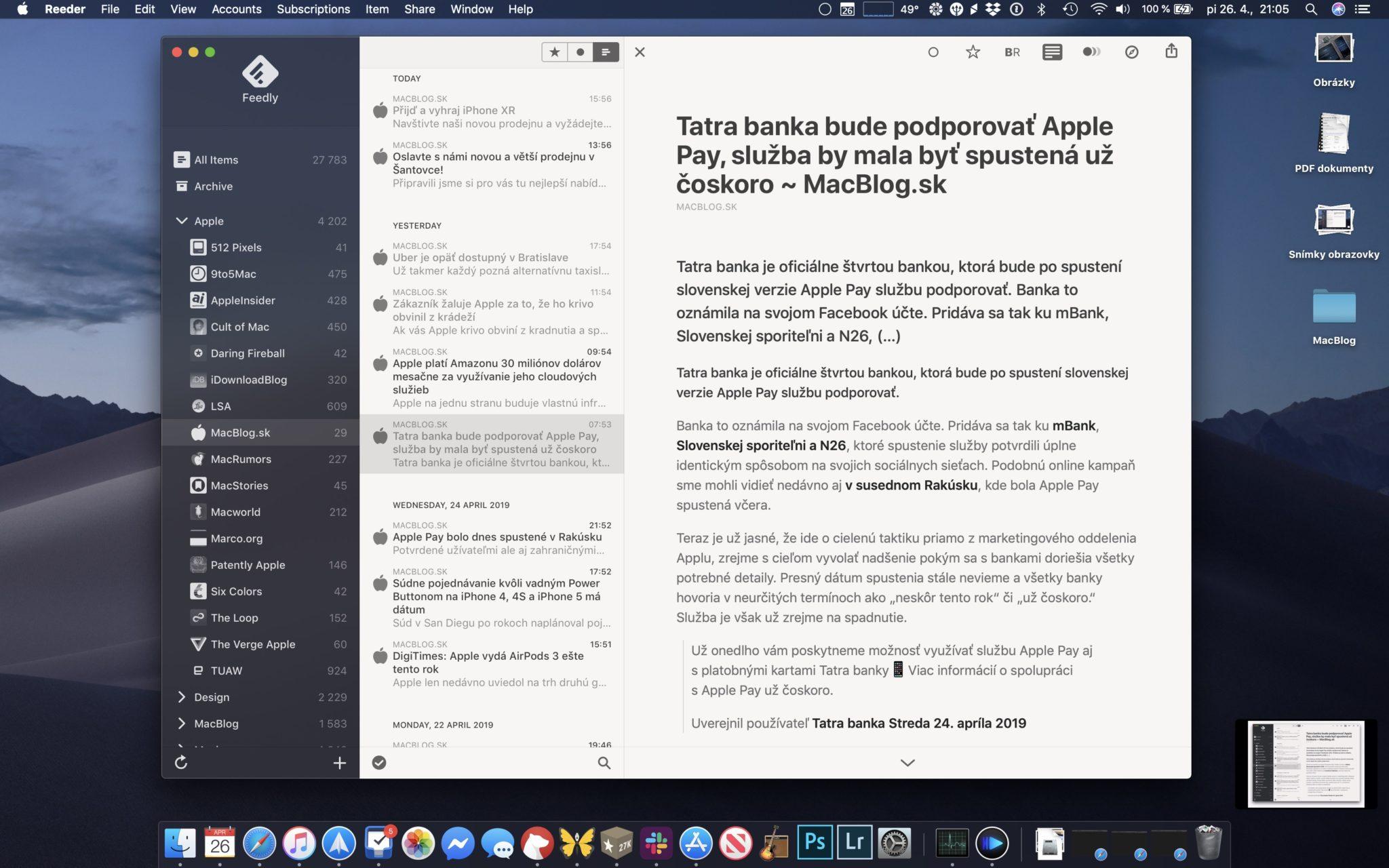 reeder 4 macos - Reeder 4: vyšla nová verzia najlepšej RSS čítačky na Mac a iOS