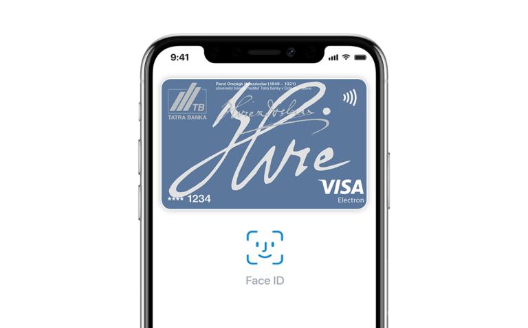 tatra banka apple pay official 768x478 - Apple Pay je dostupné na Slovensku!