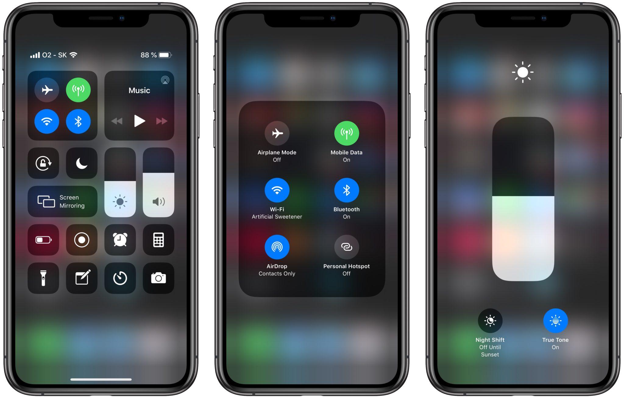 3d touch control center iphonex - S 3D Touch na iPhone sa možno čoskoro úplne rozlúčime