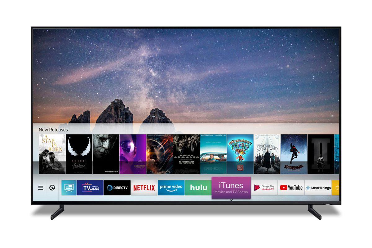 Samsung TV iTunes Movies and TV shows.0 - Apka Apple TV je s novým iOS a tvOS dostupná aj u nás, spolu s AirPlay 2 prichádza aj na vybrané Smart TV