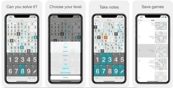 Sudoku″ 600x306 - Zlacnené aplikácie pre iPhone/iPad a Mac #19 týždeň