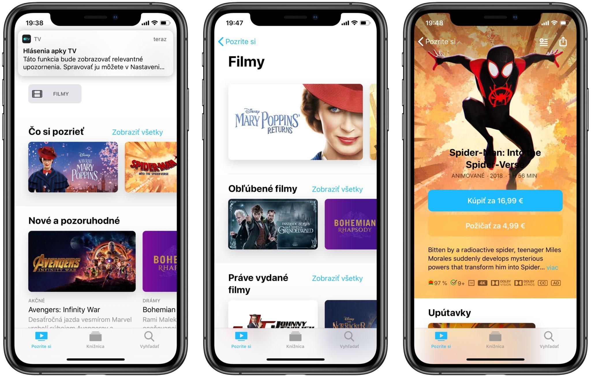 apple tv ios svk - Apka Apple TV je s novým iOS a tvOS dostupná aj u nás, spolu s AirPlay 2 prichádza aj na vybrané Smart TV