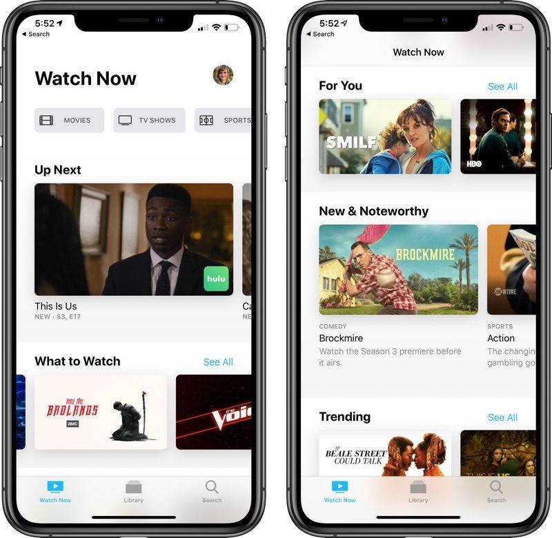 appletvapp 1 800x780 - Apple včera vydal iOS 12.3 beta 6