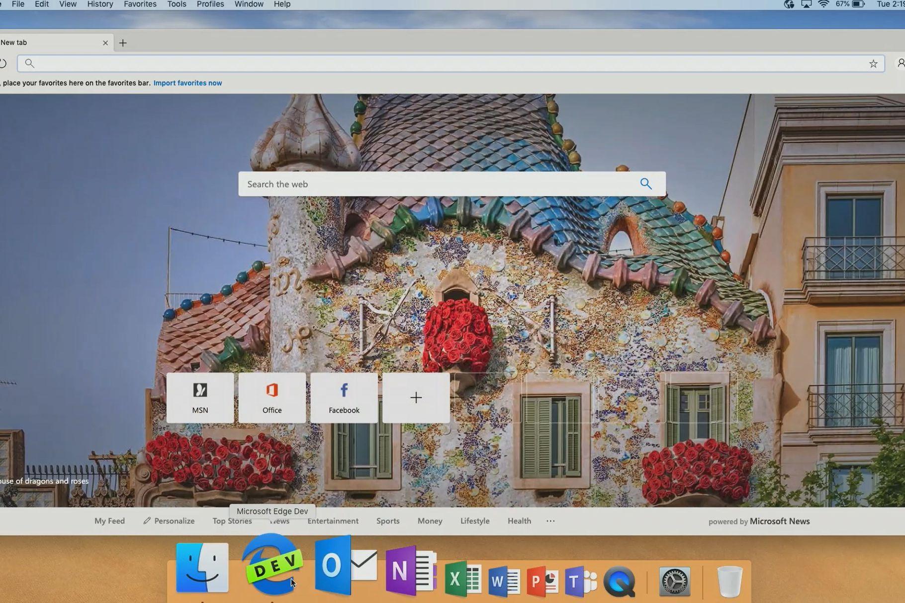 edge macos - 16 rokov po Internet Exploreri: Microsoft sa vracia na Mac s novým prehliadačom