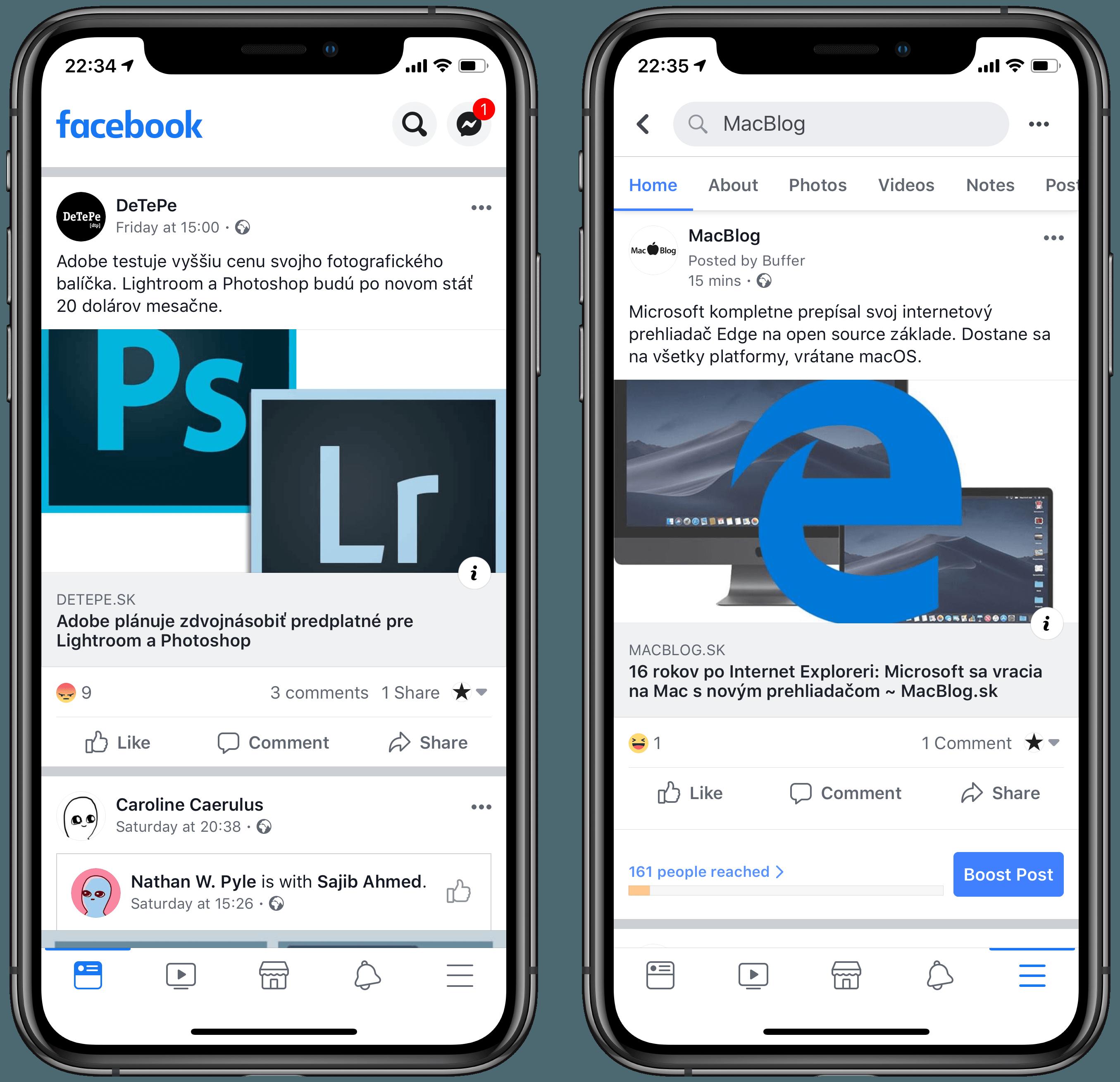 facebookredesign 2019 - Facebook prechádza redizajnom, Messenger sa čoskoro dostane aj na Mac