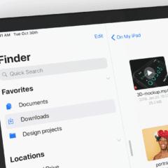finder ios13 concept daniel korpai1 240x240 - Koncept: Finder na iPade a tmavý mód v iOS 13