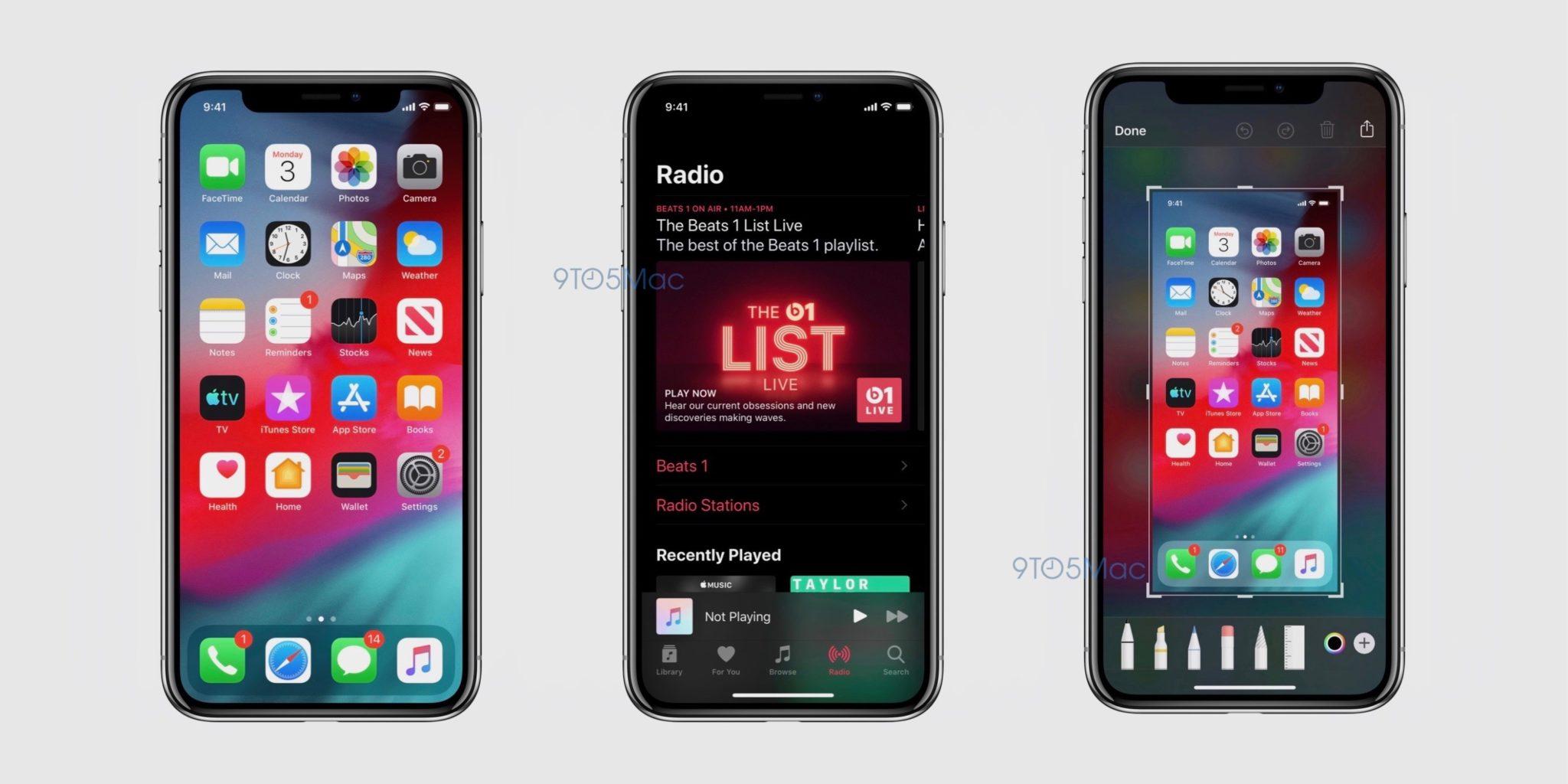 ios 13 screenshot dark mode - WWDC 2019 štartuje zajtra večer, čo všetko od konferencie očakávame?