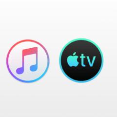 music tv mac 1 240x240 - Takto budú vyzerať nové hudobné a TV aplikácie v macOS 10.15